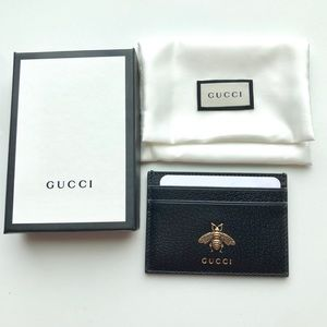 Brand New Gucci Bee Card Holder